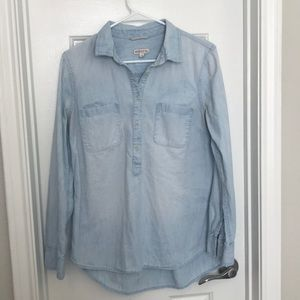 Merona Chambray Camp Shirt